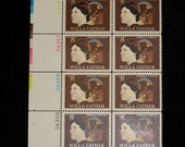 1973 Willa Cather 8-cent Postage Stamp