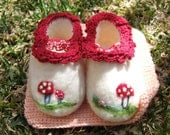 The mushroom shoes-made to order