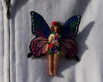Velvet - Flower Fairies Brooch
