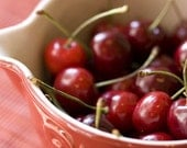 Cherry Morning - Photo Greeting Card