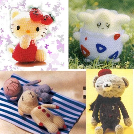 Amigurumi Collection French Bear Nitendo Togepi by getfun ...