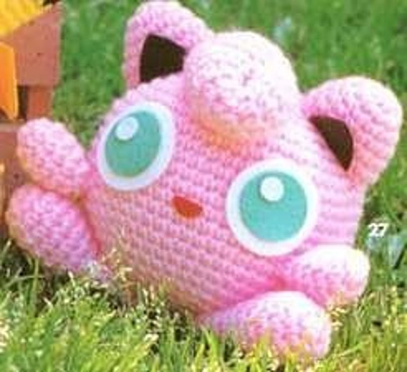 Amigurumi Orca Pattern Free : Amigurumi Nintendo TV game Jigglypuff Pokemon Crochet by ...