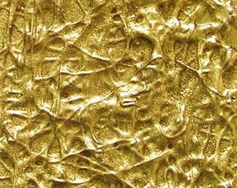 Golden Twist Original Mixed Media Aceo/Atc Abstract Painting Julia Garcia OOAK