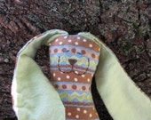 Organic Chocolate Easter Egg Snuggle Bunny - now with organic cotton or wool stuffing