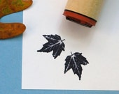 Canyon Maple Rubber Stamp