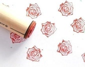 Real Rose Rubber Stamp