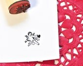 Cupid Rubber Stamp