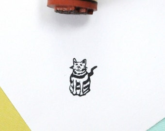My Cat Fred Rubber Stamp