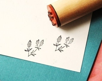 Dried Filler Rubber Stamp