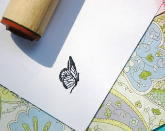Fairy Butterfly Rubber Stamp