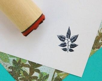 Cross Vine Rubber Stamp