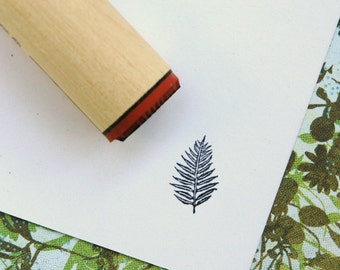 Palm Fern Rubber Stamp