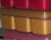 Bulk Lot  20 SOY Clamshell tarts - pick your 20 favorite scents