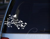 Birds and Branches Car / Laptop Decal