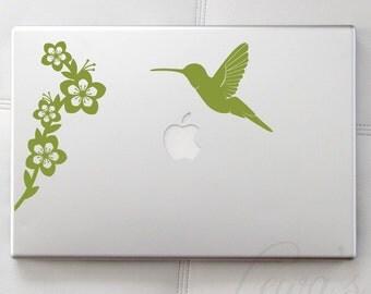 Humming Bird Laptop / Macbook / Notebook Decal