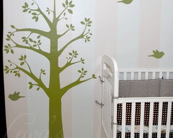 Tree and Birds Extra Large Vinyl Wall Decal