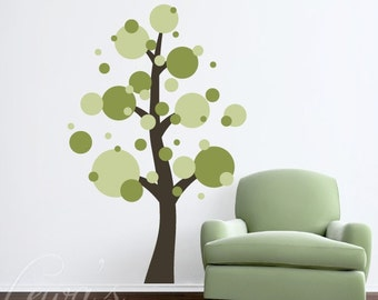 Dotty Tree Vinyl Wall Decal