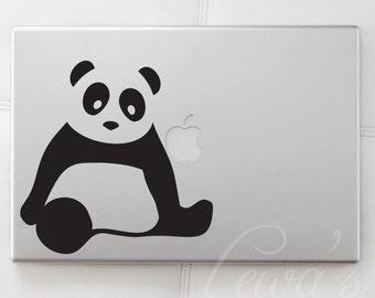 Panda Medium Laptop / Macbook / Notebook / Computer Decal