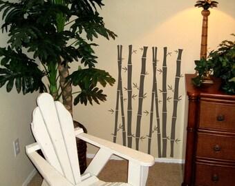 Bamboo Garden Wall Decals Medium