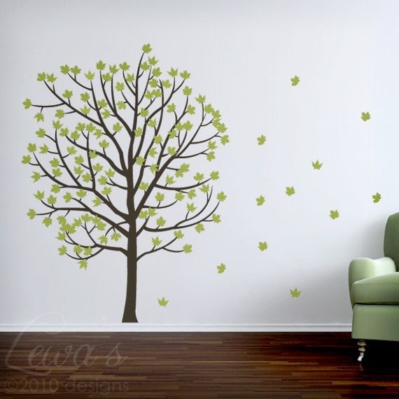 Fall Tree Large Wall Decal