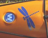 Dragonfly, MEDIUM or LARGE,  Kayak Decal