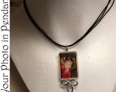 Your Photo in this Pendant - Children, Dogs, Cats, Boyfriends