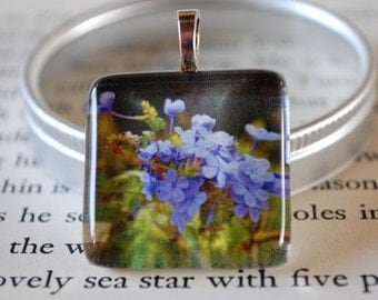 Take My Breath Glass Tile Pendant by Happy Shack Designs