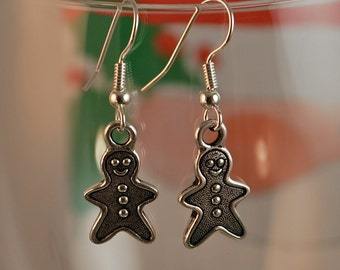 Gingerbread Man Earrings - Tierracast