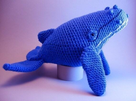 Humpback Whale Amigurumi PDF CROCHET PATTERN by edafedd on Etsy