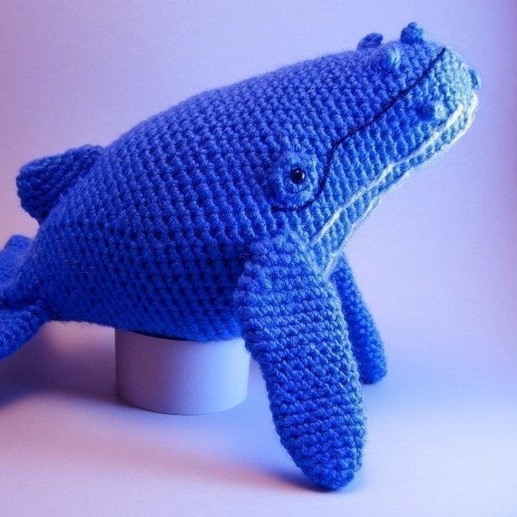 Humpback Whale Amigurumi PDF CROCHET PATTERN by edafedd on Etsy