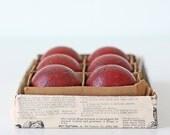 Vintage Red Balls