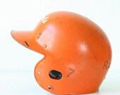 Retro Black and Orange Helmet - OSU Cowgirls' Softball