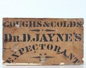 Vintage Medicine Sign