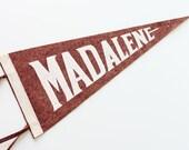 Vintage Madalene Pennant