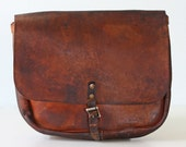 Vintage US Mail Leather Bag