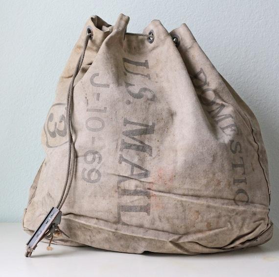 vintage canvas postal bag assessment
