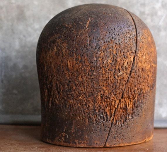 Vintage Wooden Hat Form