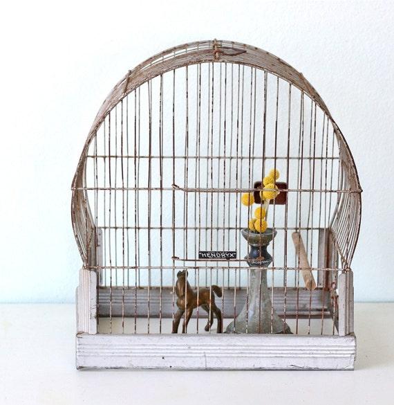 Vintage Hendryx Birdcage