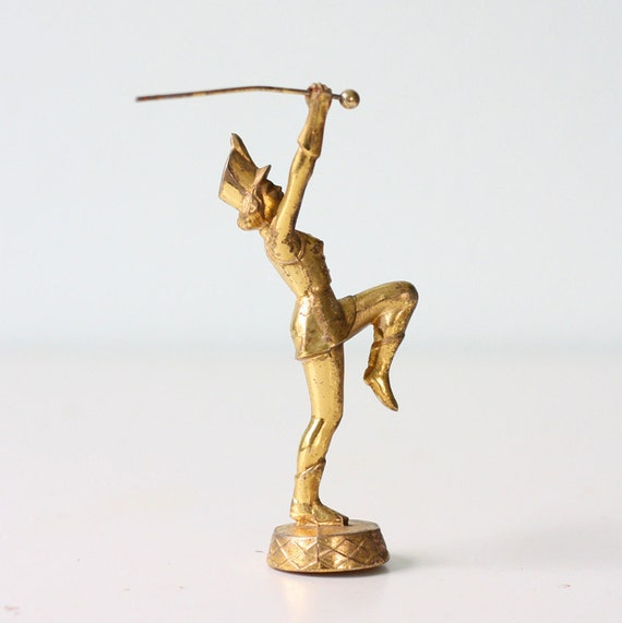 Vintage Majorette Baton Twirler Trophy Top Girl