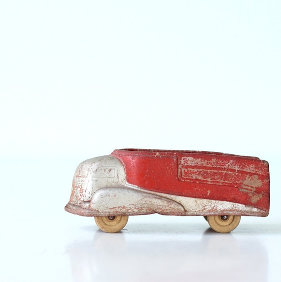 Retro Toy Truck by Sun Rubber