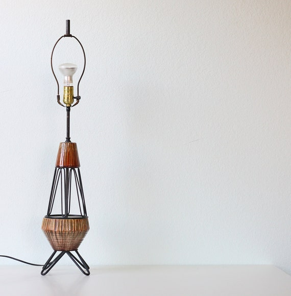 Retro Ceramic Lamp