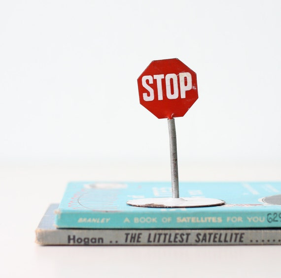 Vintage Stop Sign - Adrenosem Advertising Piece