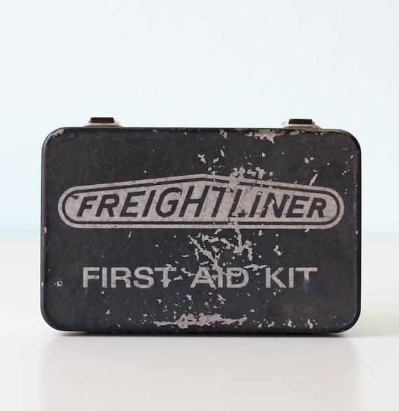 Vintage First Aid Kit - Freightliner