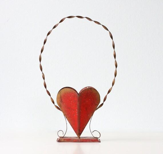 Vintage Heart Planter