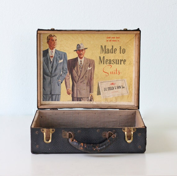 Vintage Suit Salesman's Case
