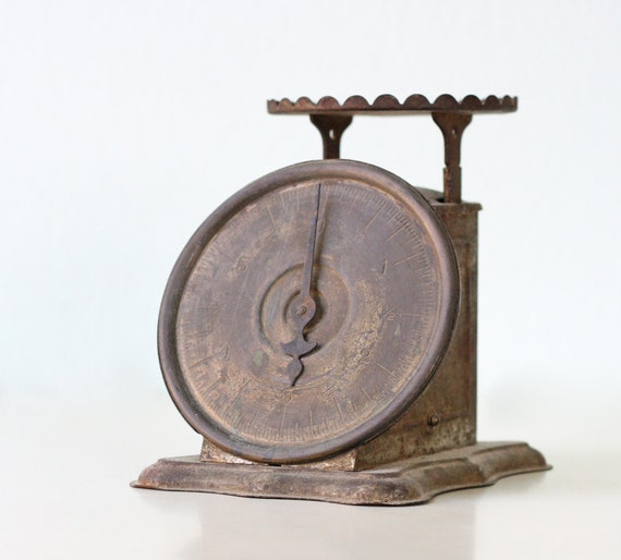 Vintage Metal Scale - Triner Scale and Mfg Co