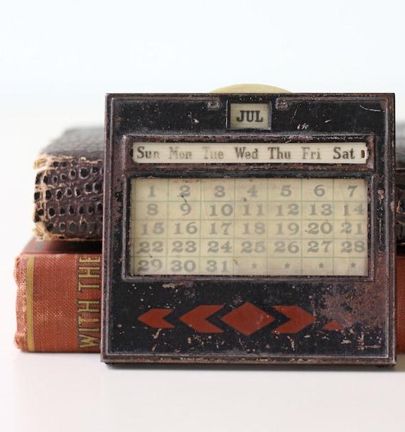 Vintage Perpetual Calendar