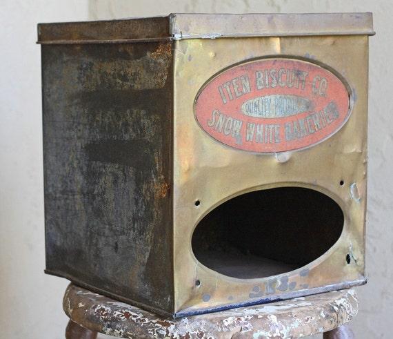 Vintage Snow White Bakeries Metal Box