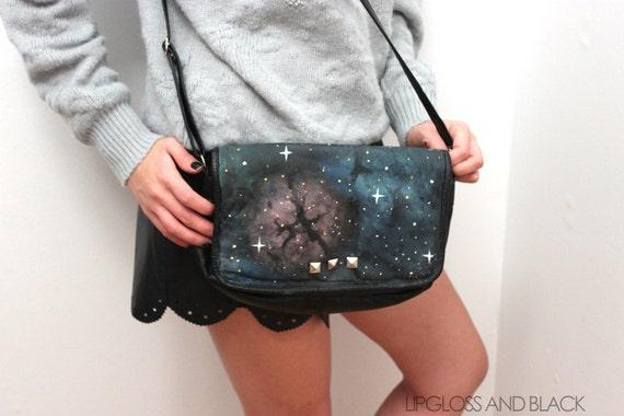 leather galaxy purse