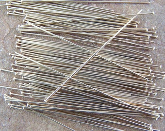 Genuine Copper Head Pins - 150 22 gauge 2 inch headpins